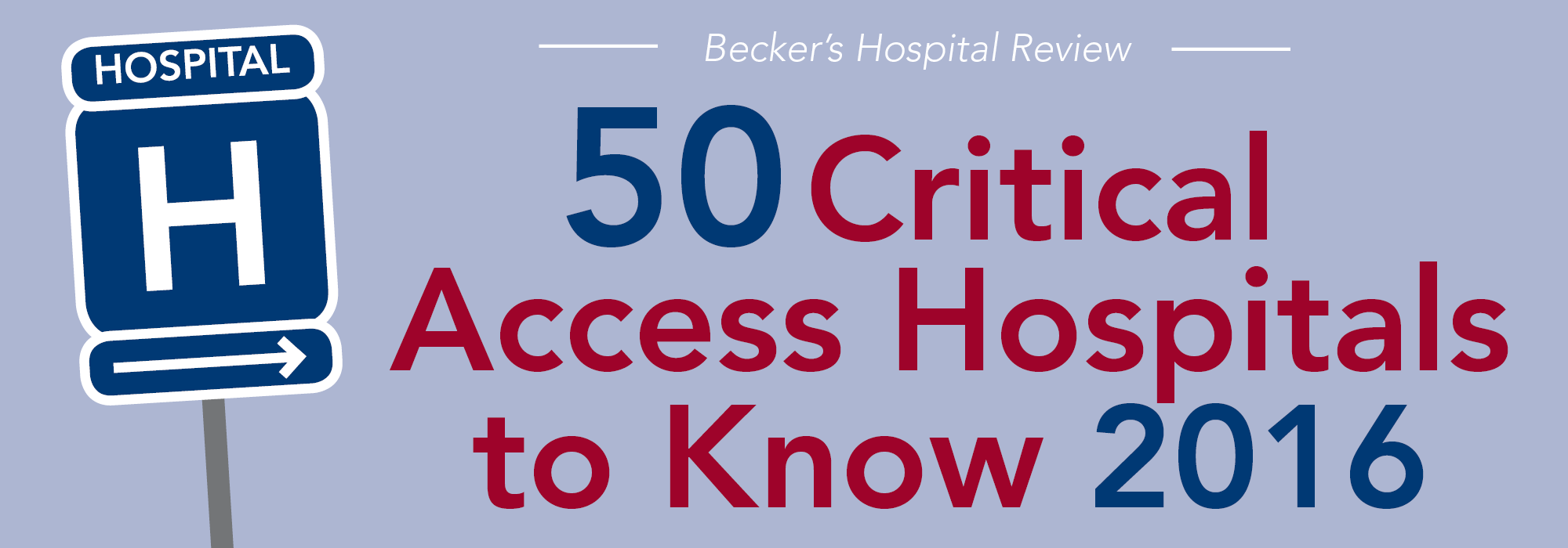 2016 Beckers Top 50 CAH to Know